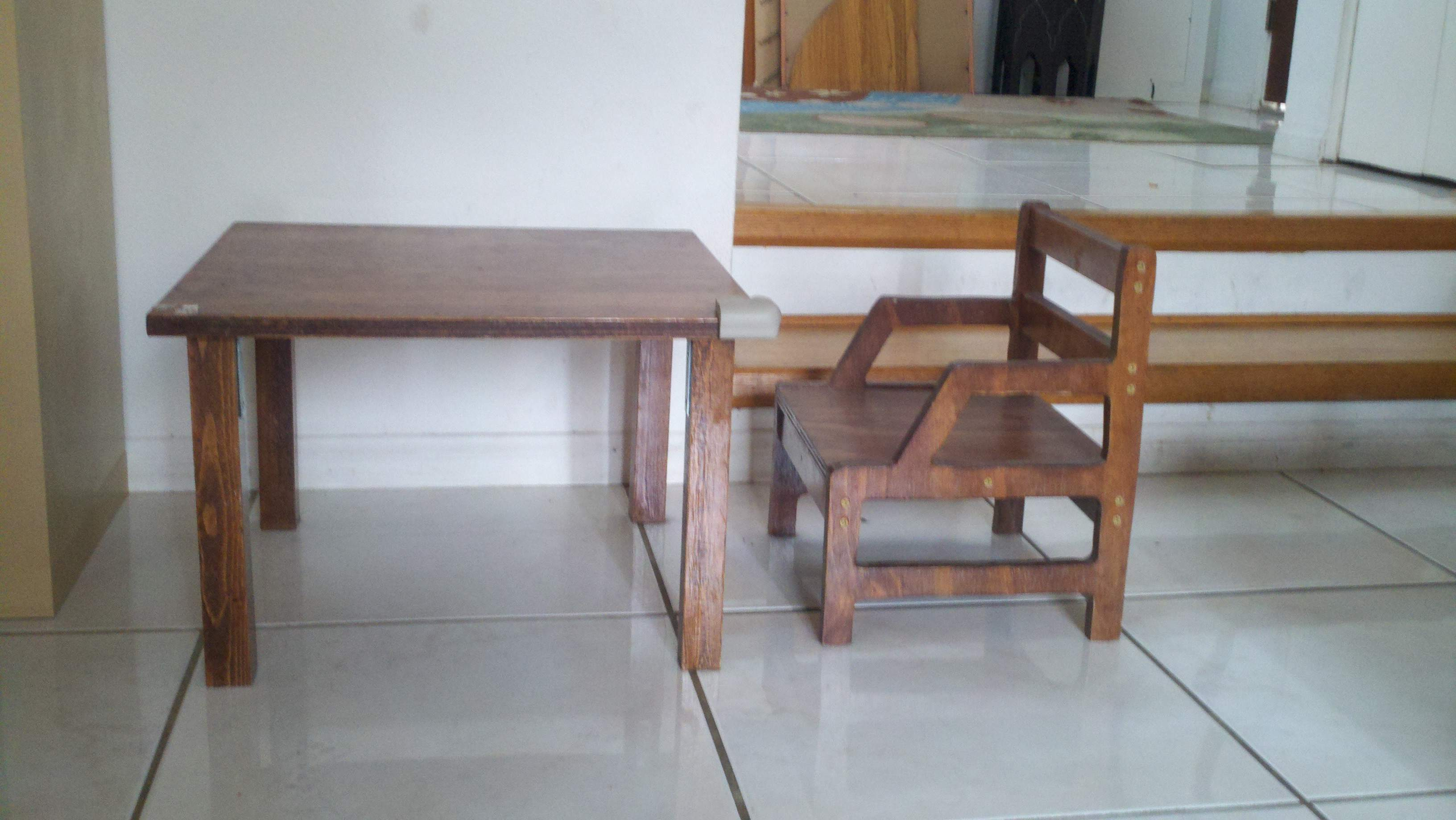 Weaning Chair And Table The Full Montessori